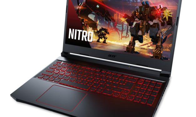 """<span class=""""tagtitre"""">Acer - </span>bientôt un PC portable gamer Nitro 5 avec processeur AMD Renoir Octo Core"""