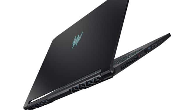 Acer Predator Triton 5 et Nitro 5, nouveaux PC portables gamer 300Hz avec GeForce RTX Super et Comet Lake-H