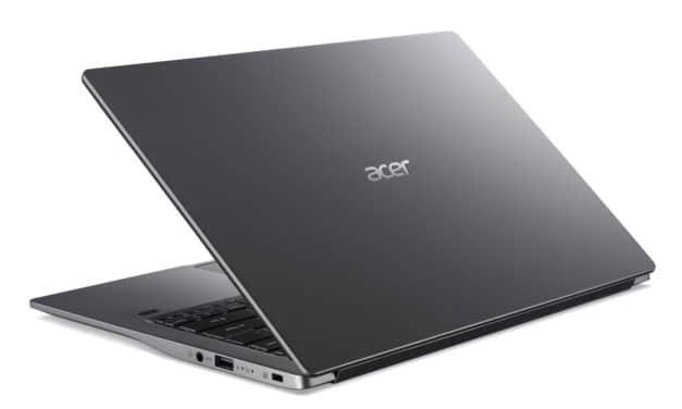 Acer Swift 3 SF314-57-7783, ultrabook 14 pouces rapide et léger avec TB3 et Iris G7 (899€)