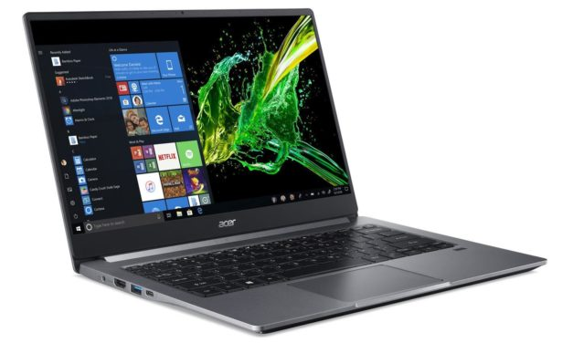 "Acer Swift SF314-57G-774N, ultrabook 14"" multimédia MX350 et rapide SSD 1 To (999€)"