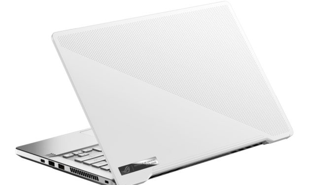 "Asus ROG Zephyrus GA401II-025T, PC portable 14"" 120Hz blanc gamer léger GTX 1650 Ti Ryzen Renoir (1615€)"