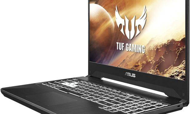 Asus TUF505DV-AL062T, PC portable gamer 15 pouces RTX 2060 (1049€)