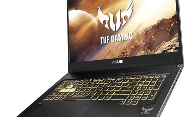 Asus TUF765DU-AU157T, PC gamer 17 pouces GTX 1660 Ti et 32 Go de RAM pour l'usage polyvalent (1349€)