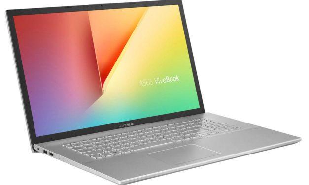 Asus VivoBook M712DK-AU036T, 17 pouces fin et rapide pour le multimédia (799€)