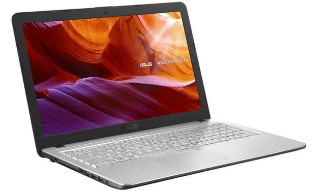 """Asus X543BA-GQ730T, PC portable 15"""" argent bureautique rapide pas cher (399€)"""