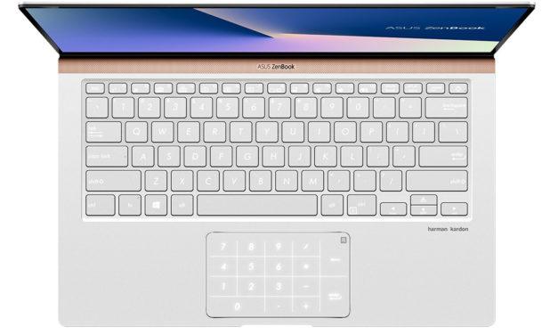 "Asus Zenbook 14 UX433FAC-A5183R, Ultrabook 14"" Pro argent léger fin rapide NumPad 10h (1209€)"
