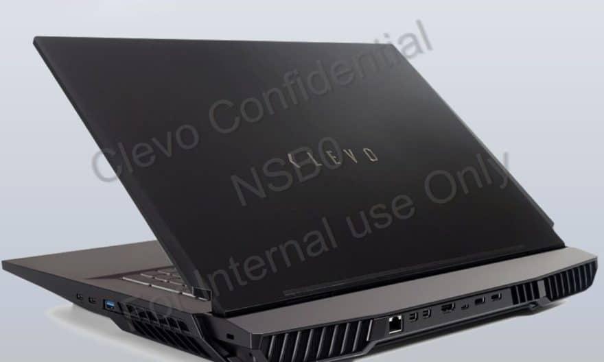 Clevo X170, PC portable 17 pouces 4K puissant avec Comet Lake-S 10 cœurs