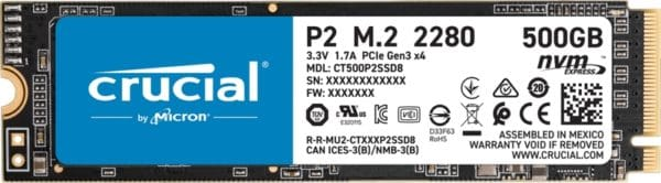 Crucial P2 SSD