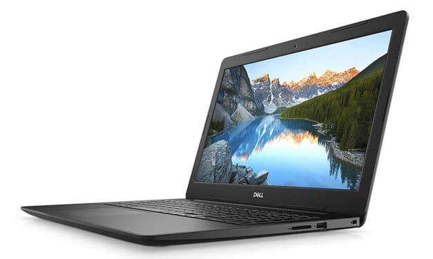 """Dell Inspiron 15 3593, PC portable 15"""" noir bureautique pas cher et rapide (469€)"""