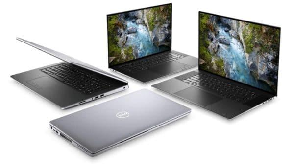 Dell XPS 15 9500 Dell XPS 17 9700 Precision 2020