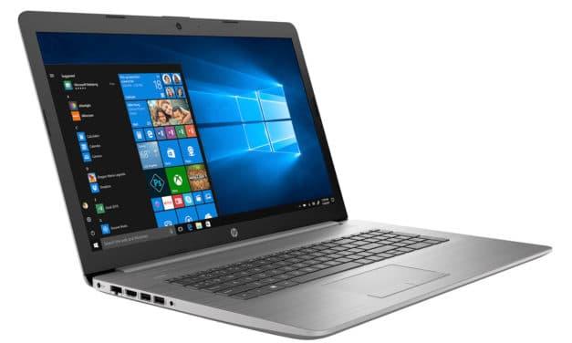 """HP 470 G7 (9HQ24EA), PC portable 17"""" argent polyvalent rapide et léger Wi-Fi ax (826€)"""
