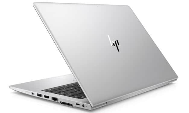 """HP EliteBook 745 G6 (7KP22EA), PC portable 14"""" Pro argent polyvalent fin léger rapide garanti 3 ans (1192€)"""