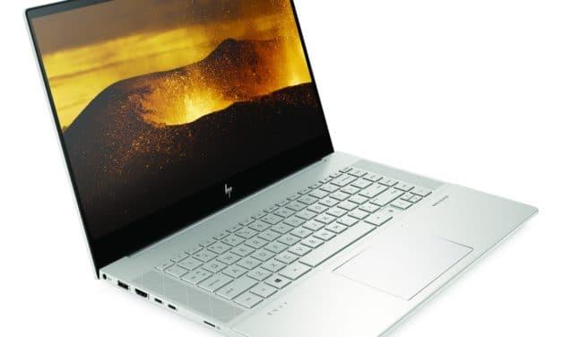 """HP Envy 15 de 2020, Ultrabook 15"""" OLED 4K fin et léger TB3 Octo Core i9 Comet Lake-H et RTX"""