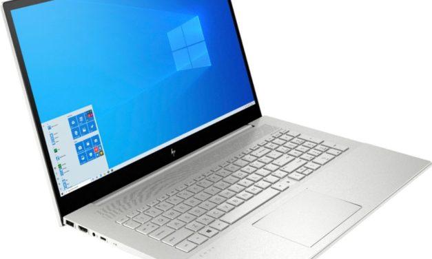 HP Envy 17 2020,nouveau PC portable argent fin polyvalent Ice Lake, GeForce MX330 et Wi-Fi ax, 11h