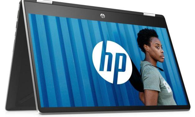 """HP Pavilion x360 14-dh0042nf, PC portable 14"""" tablette tactile bureautique (579€)"""