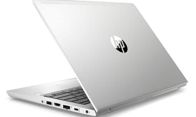 "HP ProBook 430 G7 (3C058EA), ultraportable 13"" Pro fin léger rapide 10h Wi-Fi ax RAM 16 Go (1208€)"