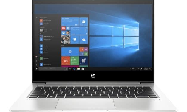 """HP ProBook 430 G7 (9VZ25EA), Ultrabook 13"""" argent Windows 10 Pro fin rapide et léger 10h Wi-Fi ax (883€)"""