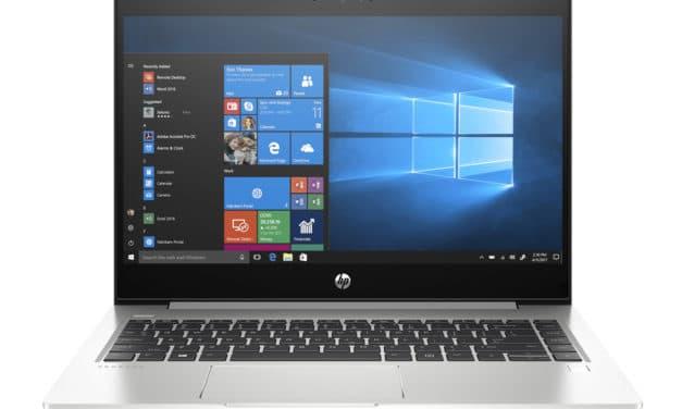 """HP ProBook 440 G7 (9VZ38EA), Ultrabook 14"""" Windows 10 Pro argent rapide fin et léger Wi-Fi ax 8h (823€)"""