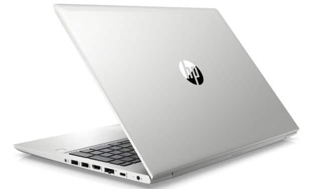"HP ProBook 450 G7 (8VU77EA), Ultrabook 15"" Pro argent rapide, fin et léger (1017€)"
