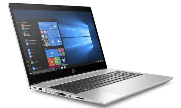 "HP ProBook 450 G7 (9VZ34EA), Ultrabook 15"" Pro argent rapide gros stockage Wi-Fi ax 7h (990€)"
