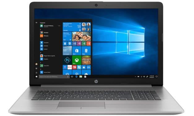 """HP ProBook 470 Pro G7 (9TX51EA), PC portable 17"""" Pro polyvalent rapide et léger Wi-Fi ax (900€)"""