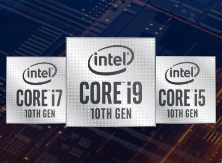 """<span class=""""tagtitre"""">Intel - </span>nouveaux processeurs Comet Lake-H pour PC portables performants, Octo Core et 5 GHz"""