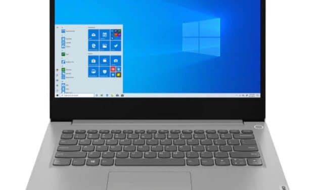 Lenovo IdeaPad 3 14ADA05, 14 pouces bureautique rapide et pas cher (424€)