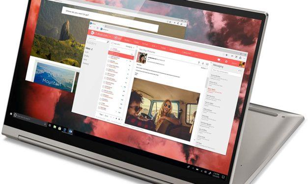 "Lenovo Yoga C940-14IIL, ultrabook 14"" tactile convertible en tablette premium (1299€)"