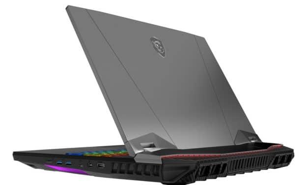 """MSI GT76 9SGS-251FR Titan DT, PC portable gamer créateur puissant 17"""" 4K RTX 2080 Super Core i9 (4219€)"""