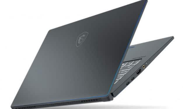 "MSI Prestige 15 A10SC-224FR, Ultrabook 15"" multimédia créatif et joueur GTX 1650 TB3 8 (1599€)"