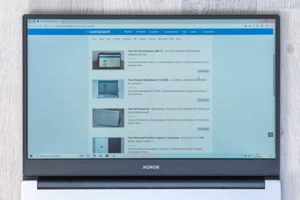 Test Honor MagicBook 14 2020