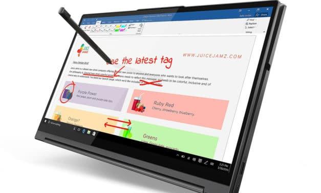 """Lenovo Yoga C940-15IRH, ultrabook tablette 15"""" 4K polyvalent et puissant GTX 1650 (2029€)"""