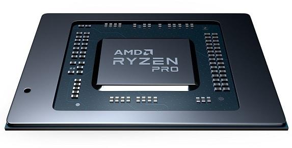 """<span class=""""tagtitre"""">AMD - </span>nouveaux processeurs mobiles Ryzen Pro 4000 Renoir pour PC portables"""