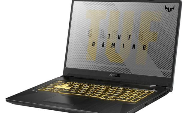 "Asus A17 TUF766IU-AU204T, PC portable gamer 17"" puissant Octo Core et 32 Go RAM (1349€)"