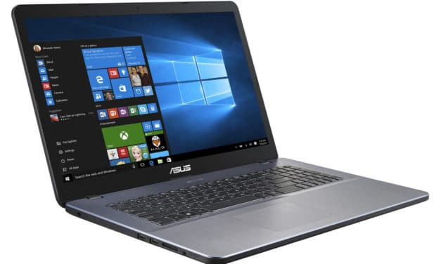 """<span class=""""nouveau"""">Nouveau 599€</span> Asus R702UA-GC1031T, PC portable 17 pouces fin, léger et rapide pour bureautique"""