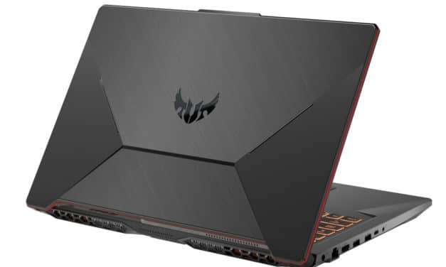 "Asus TUF706IU-H7012T, PC portable 17"" 120Hz gamer AMD Octo Core GTX 1660 Ti (1199€)"