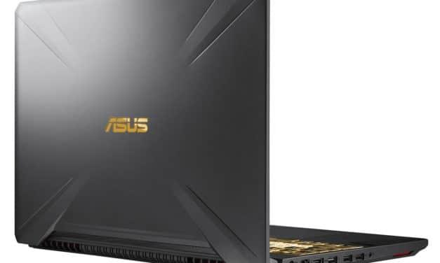 """<span class=""""promo-best"""">Promo 799€</span> Asus TUF505DT-BQ121T, PC portable polyvalent rapide et pas cher"""