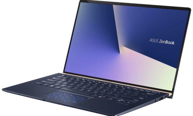 Asus Zenbook UX434FA-A5249T, ultrabook 14 pouces léger et productif avec pavé numérique (999€)