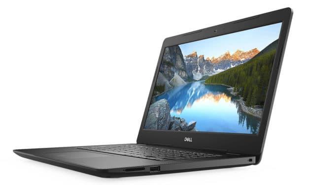 "Dell Inspiron 14 3493, Ultrabook 14"" noir nomade 7h fin léger et rapide (599€)"