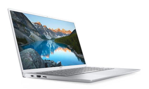 "Dell Inspiron 14 7490, Ultrabook 14"" argent polyvalent 12h fin rapide et léger Wi-Fi ax TB3 (1299€)"