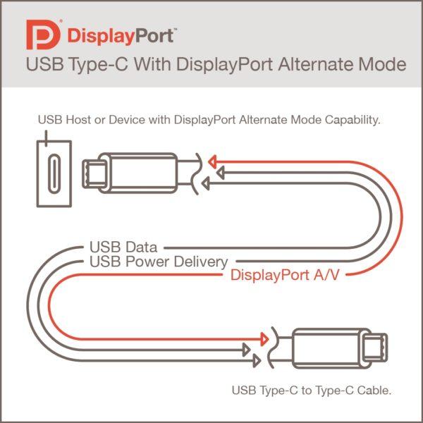 DisplayPort 2.0 Alternate Mode Alt-Mode
