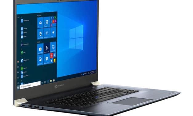 """<span class=""""tagtitre"""">Dynabook - </span>bientôt de nouveaux PC portables Portégé X 14"""" et 15"""" Comet Lake"""
