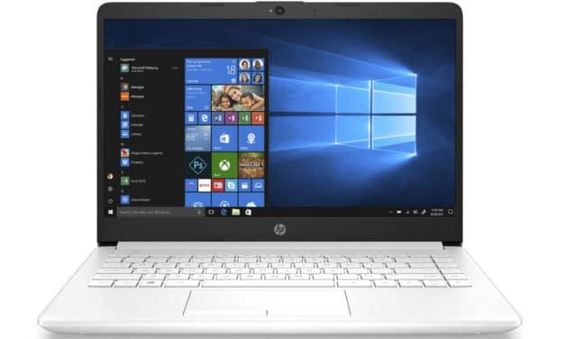 """HP 14-cf3009nf, Ultrabook 14"""" blanc fin rapide et léger (699€)"""
