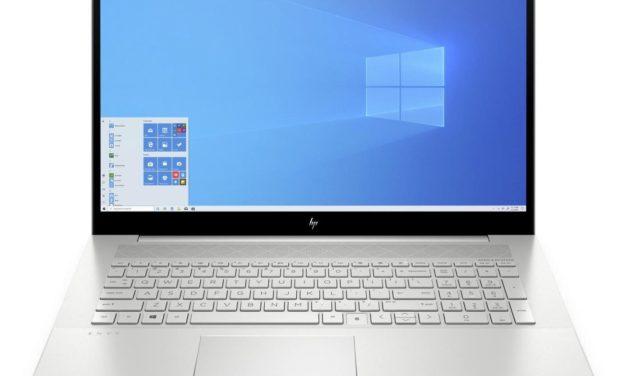HP Envy 17-cg0031nf, ultrabook 17 pouces fin et élégant avec SSD 1 To et MX330 (1349€)