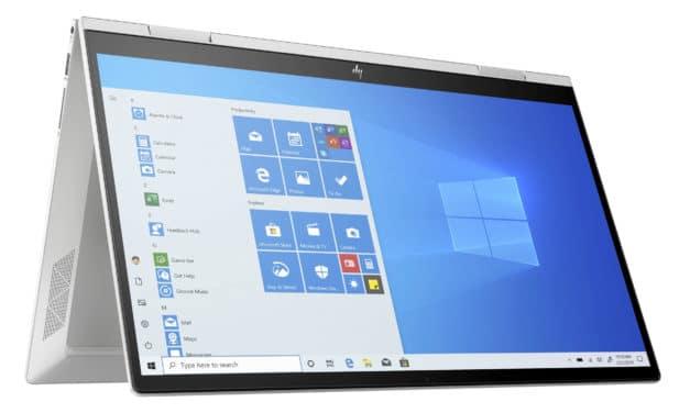 HP Envy x360 15-ed0009nf, 15 pouces tablette rapide pour le multimédia Iris G7 (1199€)