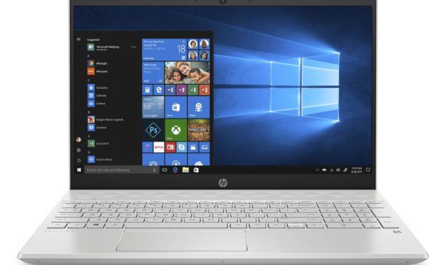 HP Pavilion 15-cs3035nf, ultrabook 15 pouces blanc productif avec grosse capacité de stockage (589€)