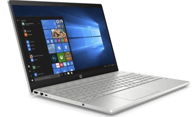 """HP Pavilion 15-cw1028nf, PC portable 15"""" argent polyvalent fin rapide et léger (699€)"""