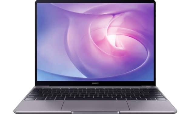 "<span class=""promo"">Promo 999€</span> Huawei Matebook 13 2020, ultrabook 13"" tactile sobre et léger pour multimédia 2K productif"
