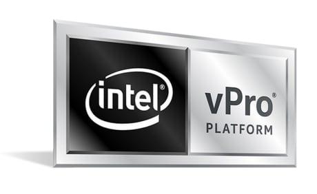 """<span class=""""tagtitre"""">Intel - </span>nouveaux processeurs mobiles Comet Lake vPro pour PC portables professionnels"""