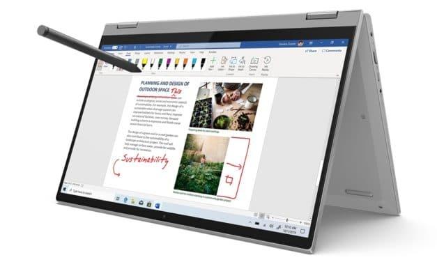 """Lenovo IdeaPad Flex 5 14ARE, PC portable 14"""" tactile Tablette polyvalent fin et léger avec AMD Ryzen Renoir Octo Core"""